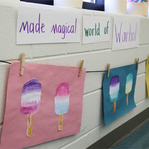 St. Thomas teacher creates student gallery to promote visual arts